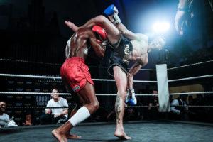 Kick boxing fight